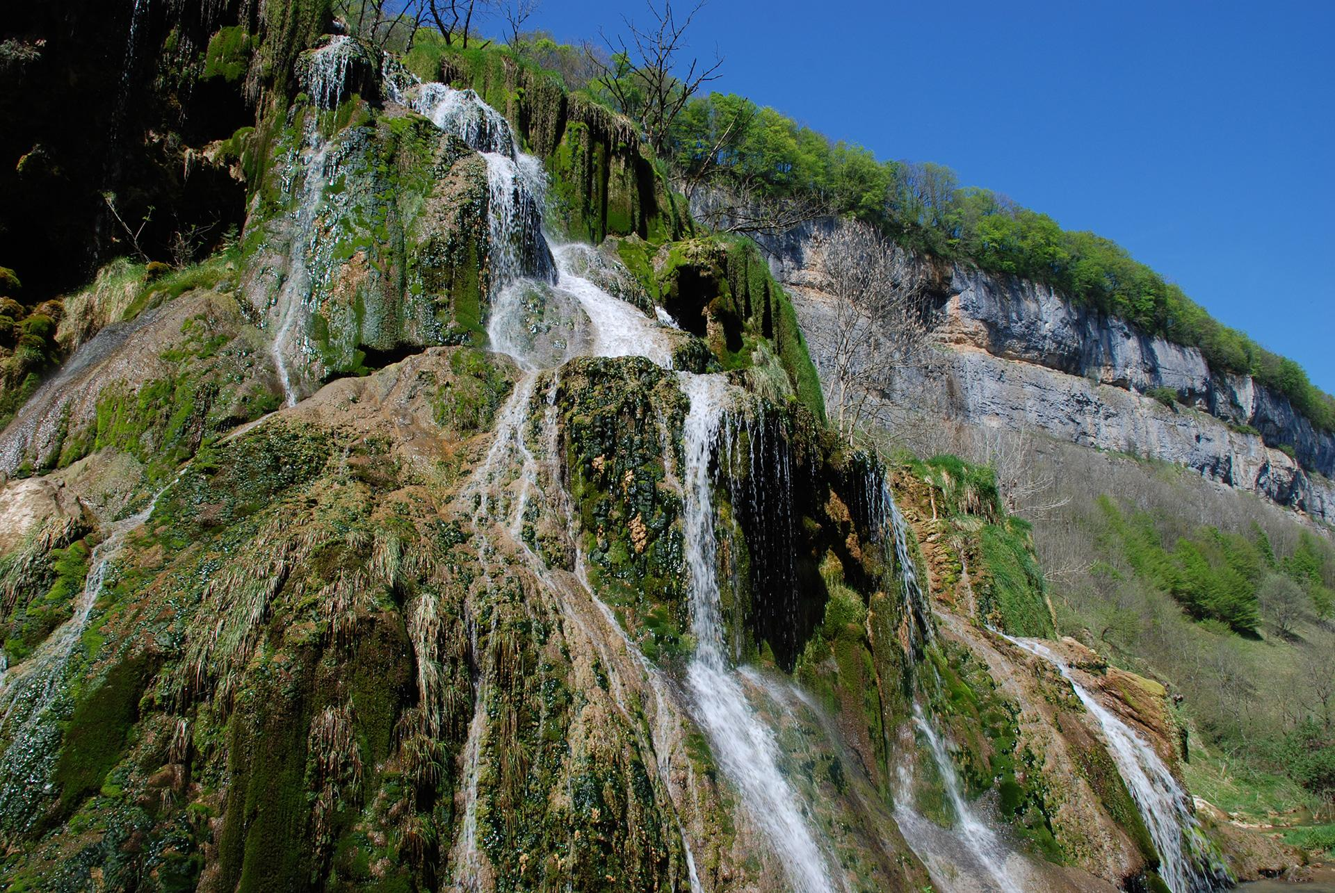 The Dard waterfall in Jura