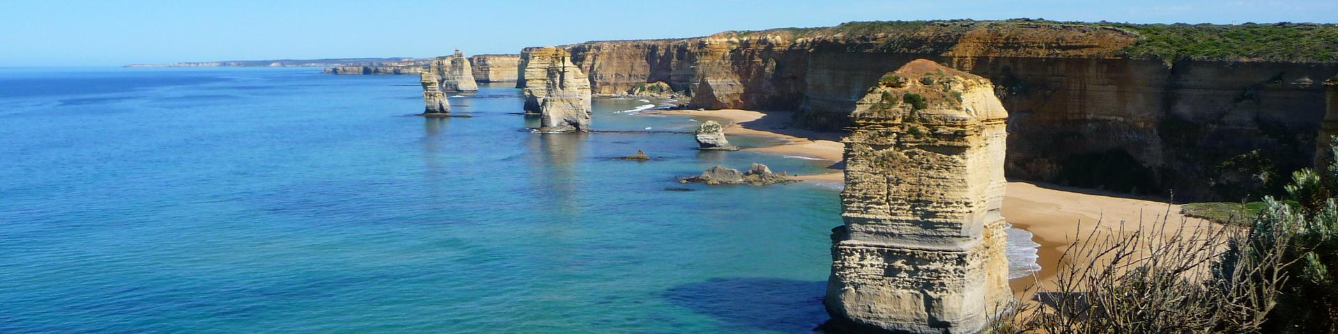 Geological formation in the south of Australia