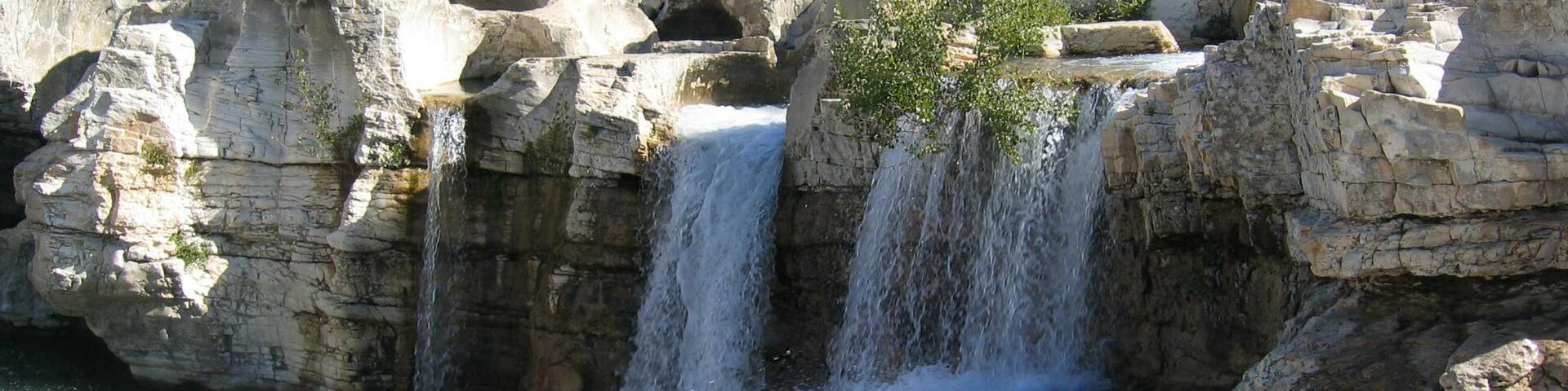 The Sautadet falls, Gard