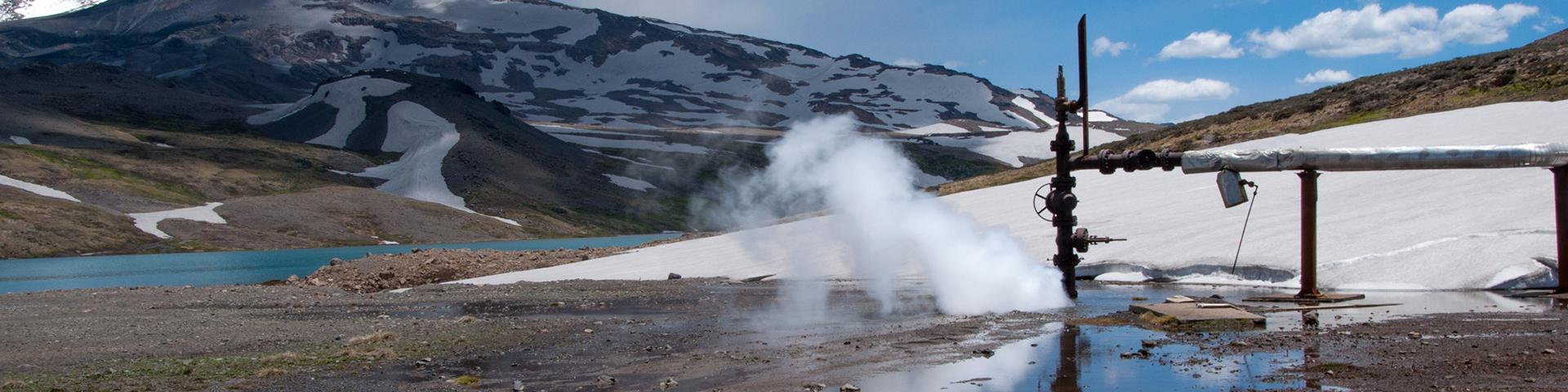 A geothermal well, Argentina