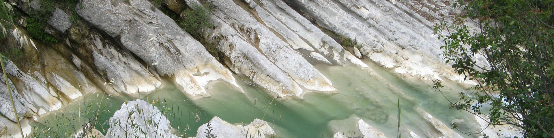 Bancs de calcaires, Alpes-Maritimes