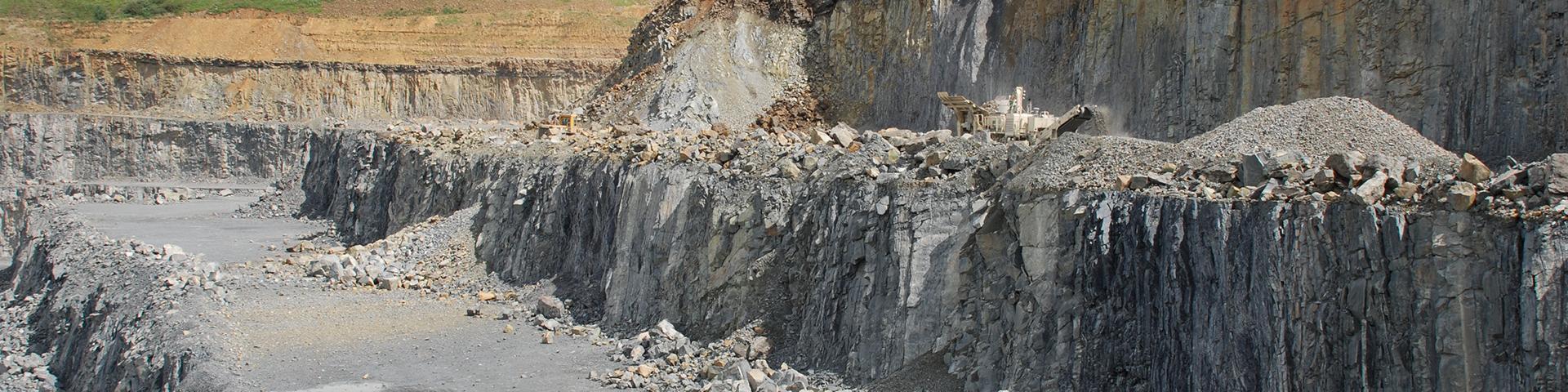 The Roche Blain quarry, Calvados