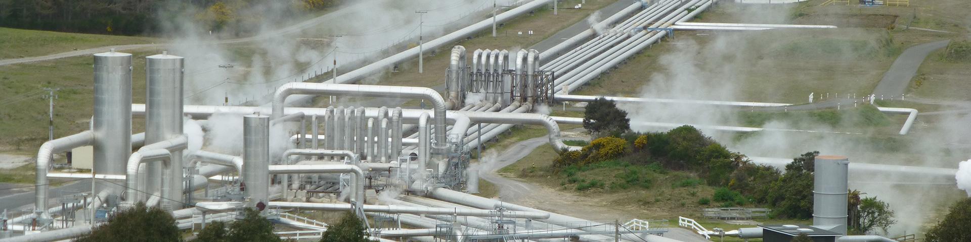 Geothermal exploitation, New Zealand