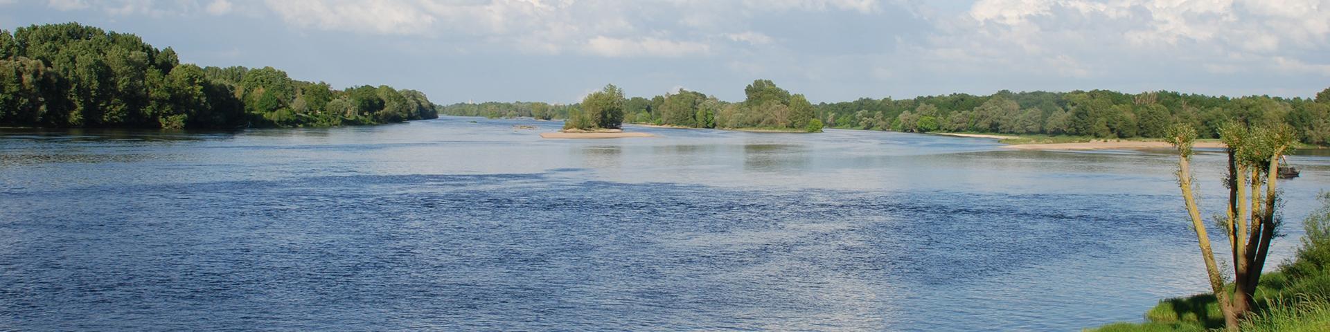 The River Loire, Orléans