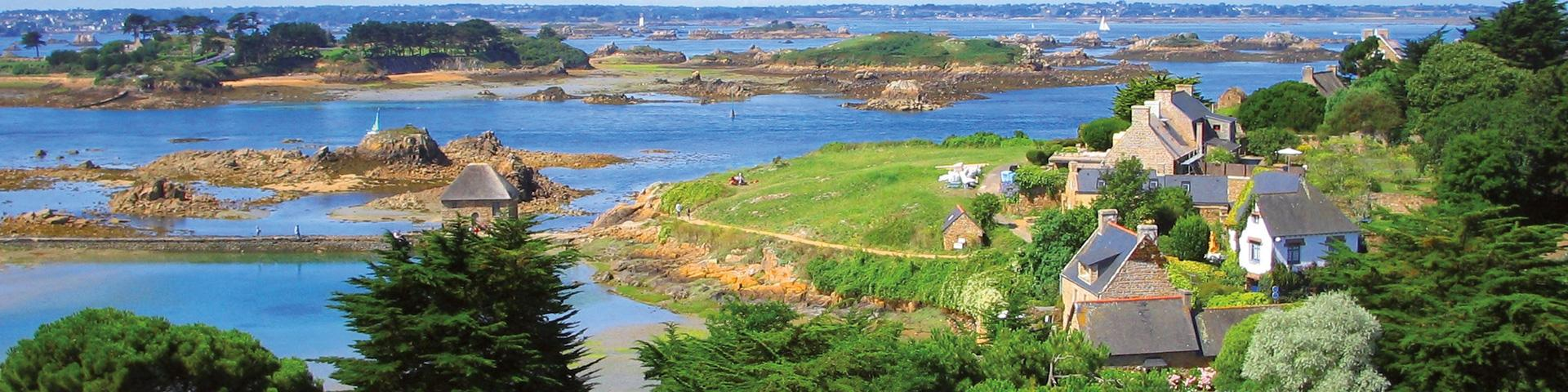 The island of Bréhat, Brittany