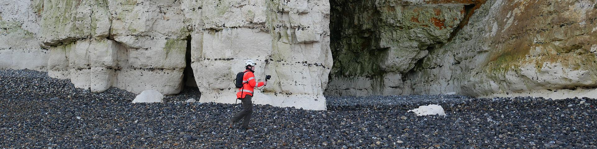 Scan 3D de falaise, Criel-sur-Mer