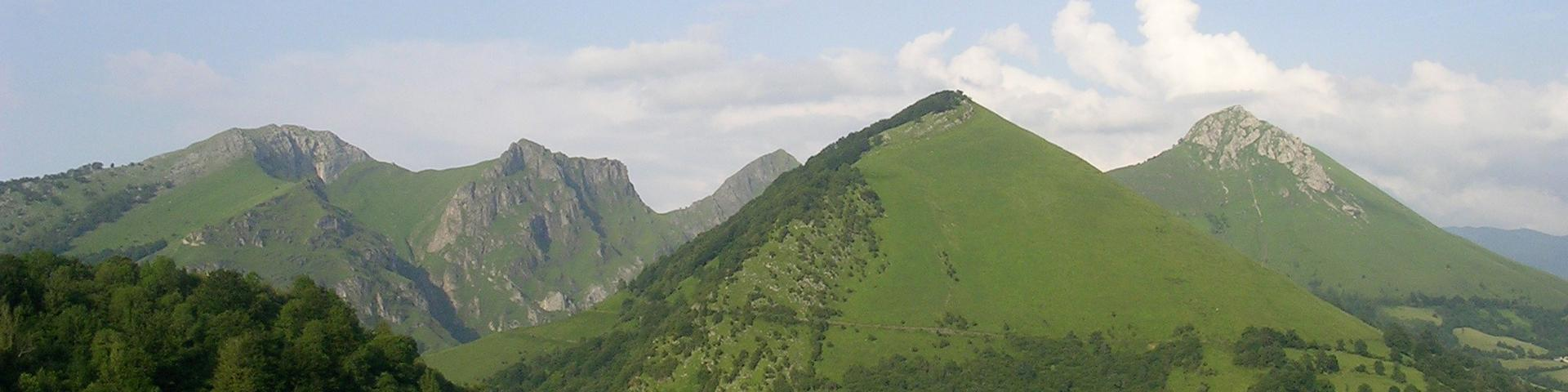 The Béarn mountain range, Ariège
