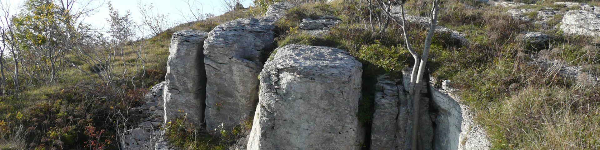 Sur le Pic de l'Aigle, Jura