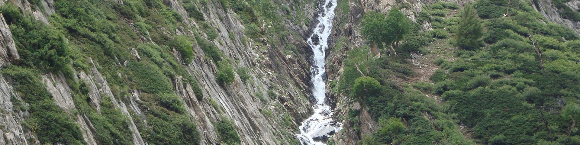 Source karstique, Pahalgam