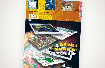 Cover of Issue 21 of the Géorama magazine