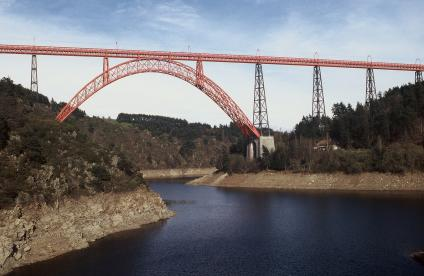 Garabit railway viaduct, Lozère