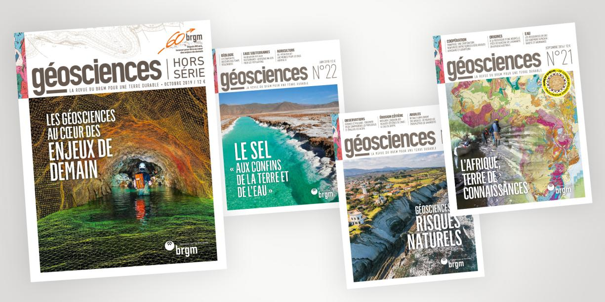 Covers of the latest issues of Geosciences journal