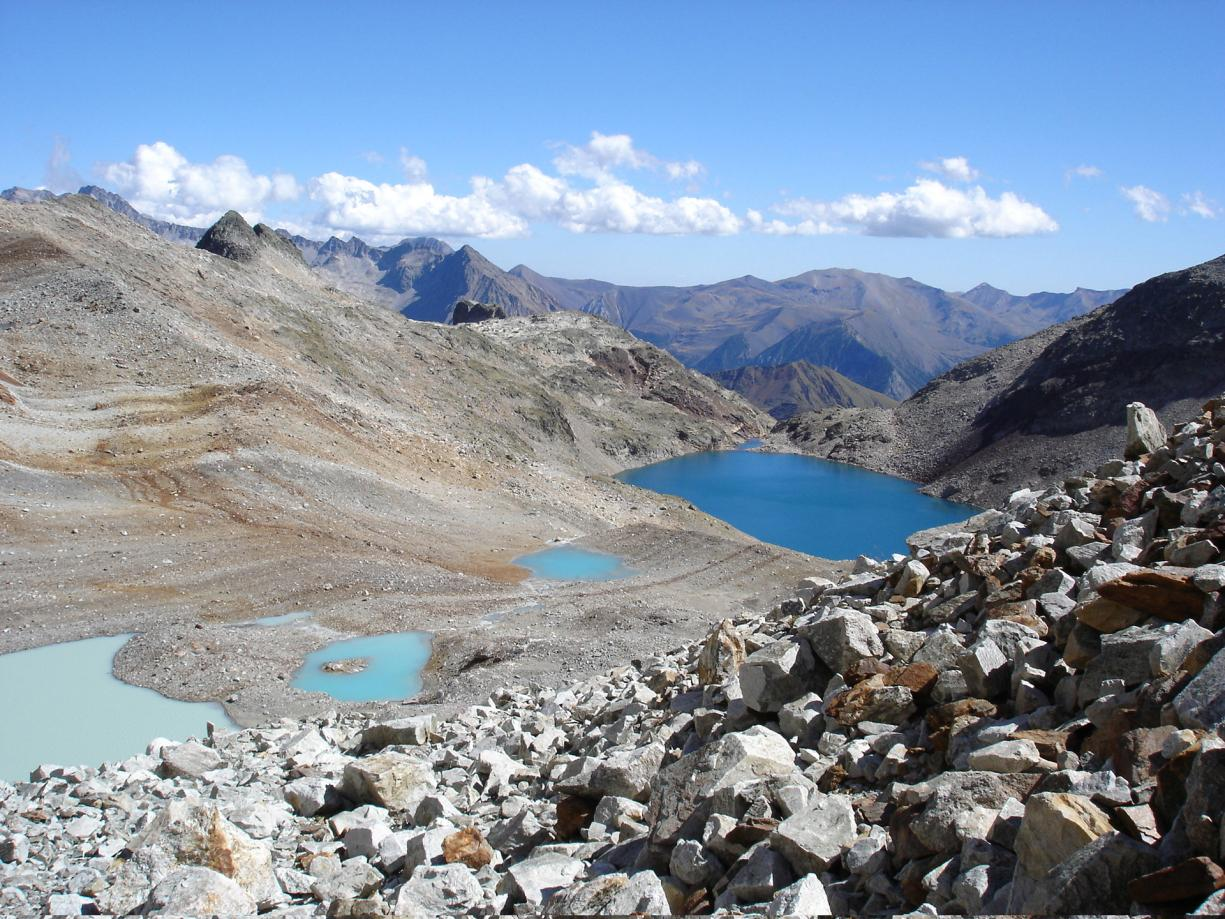 High altitude lakes in the Aneto Massif, Hautes-Pyrénées