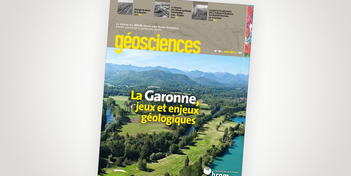Cover of Issue 19 of the Géosciences journal
