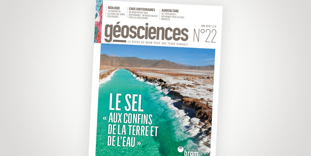 Cover of Issue 22 of the Géosciences journal