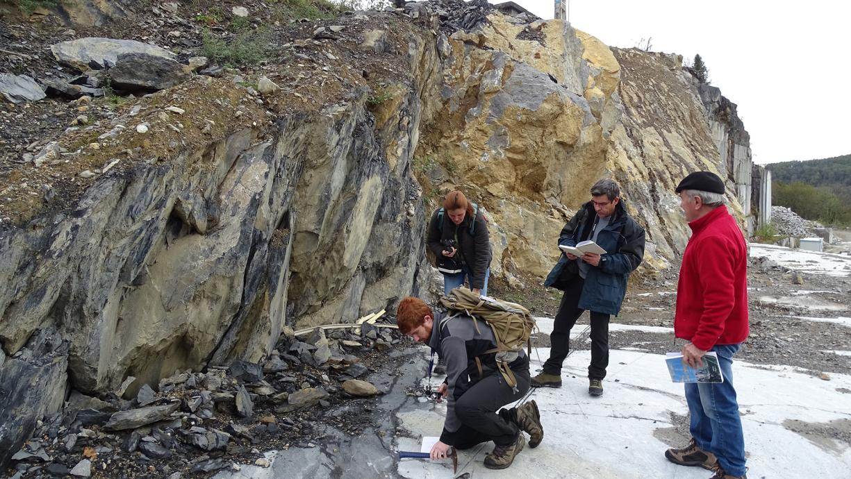 A geology field assignment in the Pyrenees