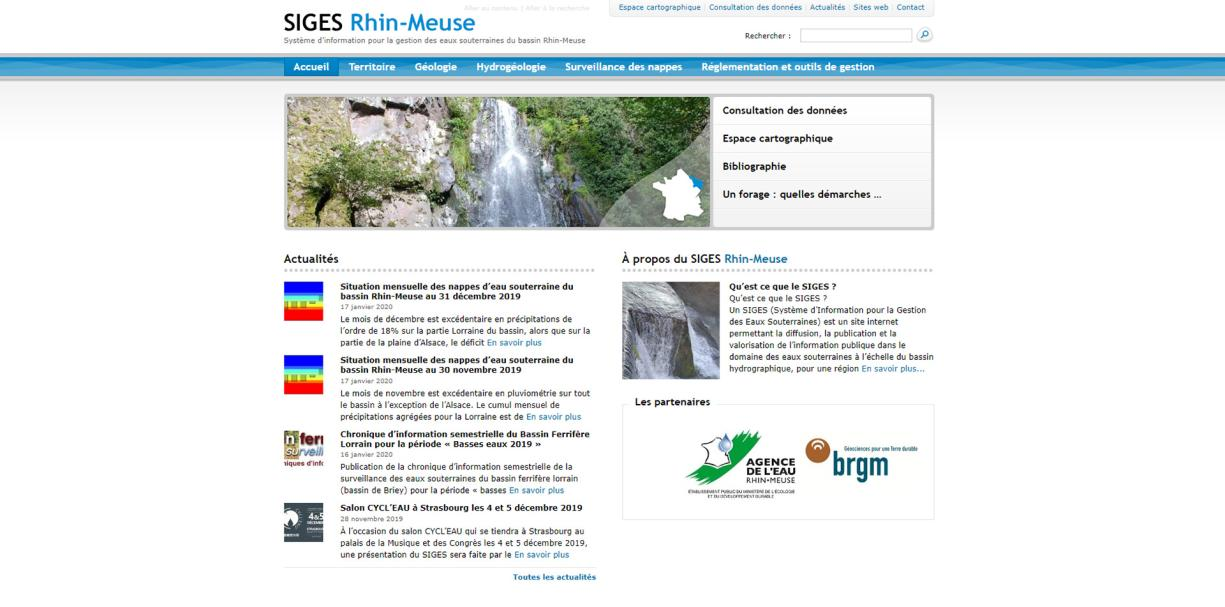 SIGES Rhin-Meuse home page