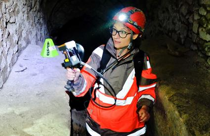Digitisation of the underground galleries beneath the Saint-Rémi Museum in Reims with the ZEB-Revo tool (3D laser survey)