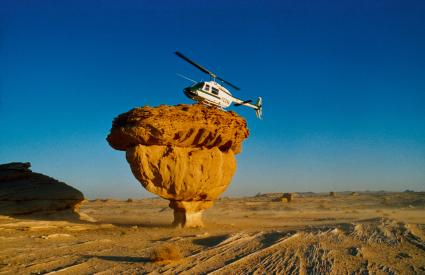 Cartography and mineral prospecting in Saudi Arabia